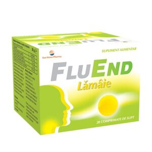 FluEnd Lămâie 20cpr SunWave Pharma