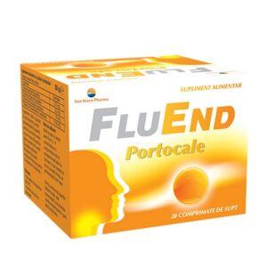FluEnd Portocale 20cpr SunWave Pharma