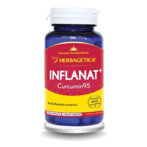 Inflanat Curcumin95 Herbagetica 60 capsule