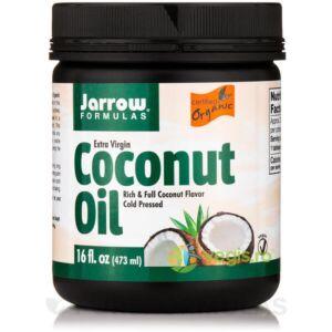 Coconut Oil Extra Virgin (Ulei de cocos) 473ml JARROW FORMULAS