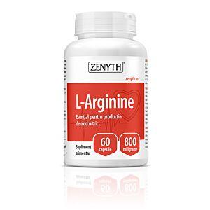 L-Arginine 60 capsul3/800mg-Zenyth