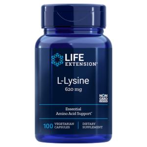 L-Lysine 620 mg 100 capsule - Life Extension