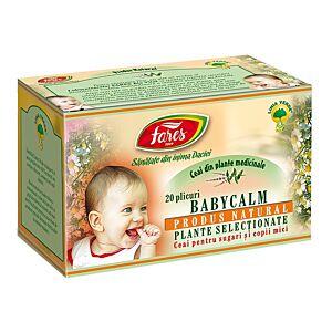 Babycalm,  20 buc ceai la plic