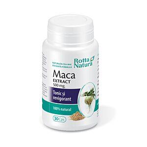Maca extract 500 mg 30cps Rotta Natura