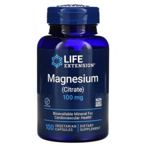 magnesium citrate life extension