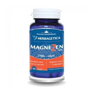 MagneZen 60 Capsule-Herbagetica