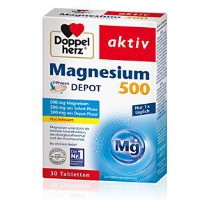 Magneziu 500 DEPOT, 30 comprimate Doppelherz