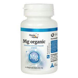 Magneziu Organic 60 cpr Dacia Plant