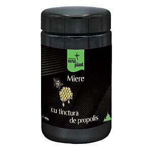 Miere Cu Tinctura De Propolis Eco 420g Nera Plant