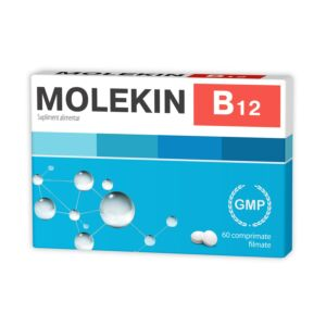Molekin B12, 60 comprimate filmate, Zdrovit