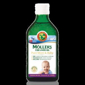 Moller's Cod liver oil Pure Mom & Baby, 250 ml