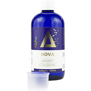 Argint Coloidal Nova 110ppm 480ml - Pure Alchemy