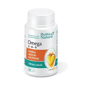 Omega 3-6-9 30cps Rotta Natura