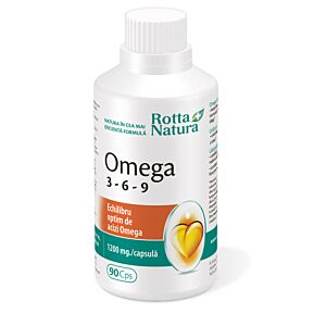 Omega 3-6-9 90cps Rotta Natura