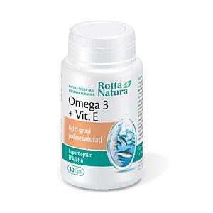 Omega 3+Vit.E 30cps Rotta Natura