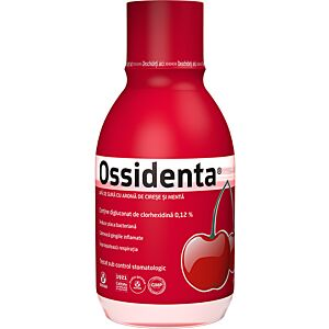 Ossidenta – Apa de gura cu aroma de cirese si menta Biofarm