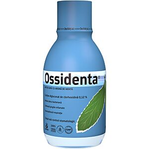 Ossidenta – Apa de gura cu aroma de menta Biofarm