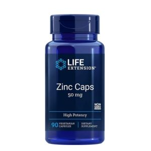Zinc Caps 50mg 90cps Life Extension