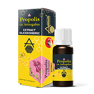 Propolis cu Astragalus extract glicerohidric DVR Pharm