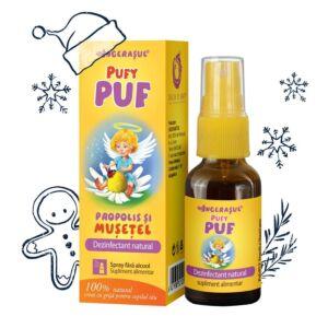 PufyPUF Propolis si Musetel spray Dacia Plant