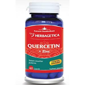 Quercetin + Zinc x 60cps Herbagetica