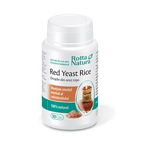 Red Yeast Rice 635 mg 30cps Rotta Natura