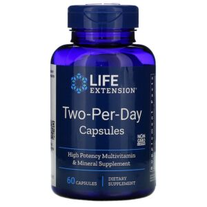 Life Extension Two-Per-Day Capsule, 60 Capsule