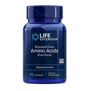 Branched Chain Amino Acids 90 cps Life Extension