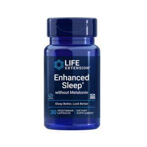 Enhanced Sleep without Melatonin - 30 cps Life Extension