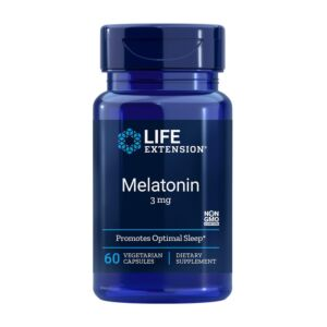 Melatonin 3mg 60cps Life Extension