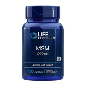 MSM 1000 - 100 capsule Life Extension