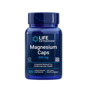 Magnesium Caps 500mg 100cps Life Extension