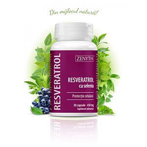 Resveratrol cu Seleniu 30 capsule
