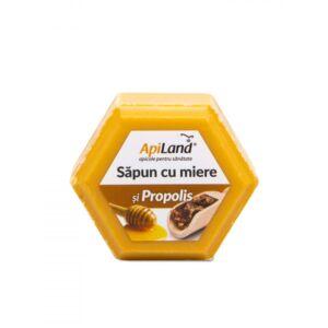 SĂPUN CU MIERE ȘI PROPOLIS 100g-APILAND
