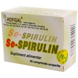 Se-Spirulin 40 compr.Hofigal
