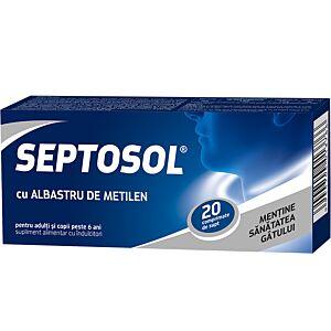 Septosol – Albastru de metilen 20cpr Biofarm