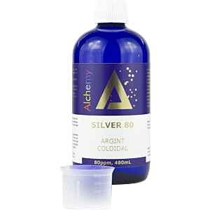 Argint Coloidal Silver 80ppm 480ml - Pure Alchemy