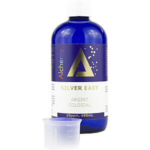 Argint Coloidal SilverEasy 10ppm 480ml - Pure Alchemy