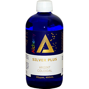 Argint Coloidal SilverPlus 30ppm 480ml - Pure Alchemy