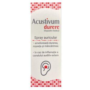 Spray auricular Acustivum durere, 20 ml, Zdrovit