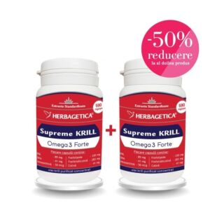 Supreme KRILL Omega3 Forte 30 + 30 capsule Herbagetica