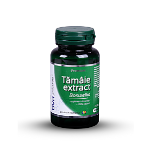 Tămâie extract – Boswellia 60cps DVR Pharm