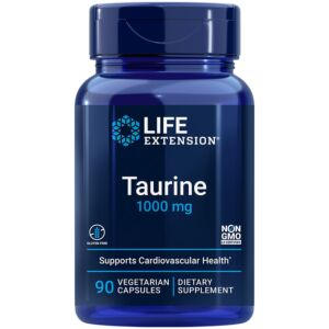 taurine 1000 mg life extension
