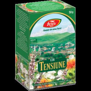 Tensiune, C36, ceai la pungă 50g Fares
