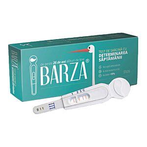 Testul de sarcina cu determinarea saptamanii Barza