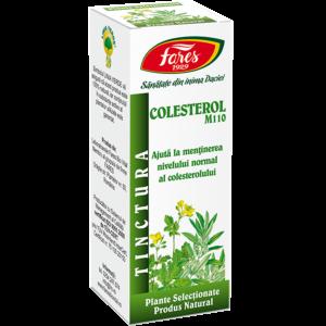 Colesterol, M110, tinctură 30ml Fares