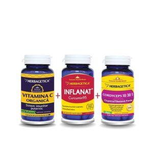 FORMULA IMPOTRIVA RACELII 30+30+30 capsule Herbagetica