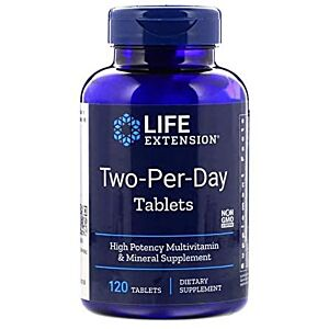 two per day 120 tablets