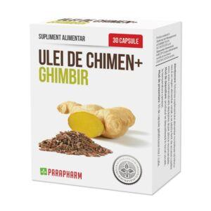 Ulei de Chimen+Ghimbir 30 cps-PARAPHARM