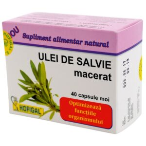 ULEI DE SALVIE –40 (capsule moi) Hofigal